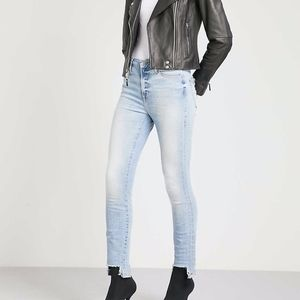 GOOD AMERICAN Good Legs skinny high-rise Jeans 28